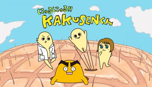 『にゅるにゅる!!KAKUSENくん』はHulu・U-NEXT・dアニメストアのどこで動画配信してる?