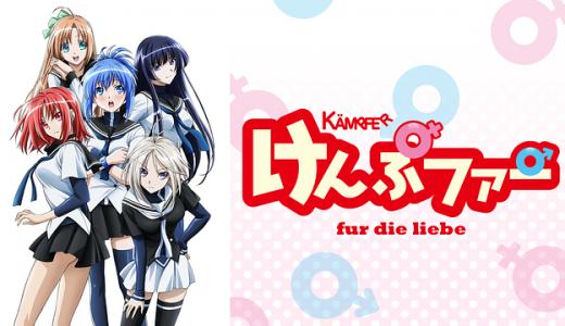 『けんぷファーfur die liebe』はHulu・U-NEXT・dアニメストアのどこで動画配信してる?