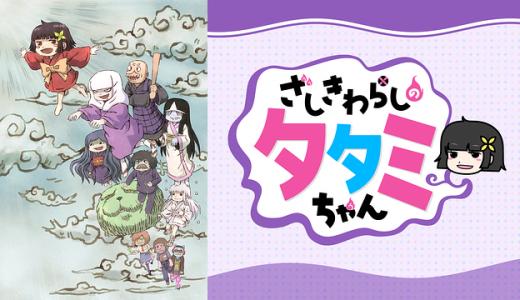 『ざしきわらしのタタミちゃん』はHulu・U-NEXT・dアニメストアのどこで動画配信してる?
