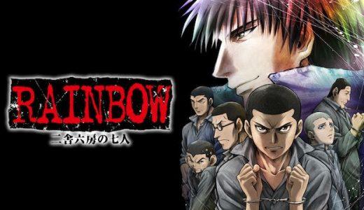 『RAINBOW -二舎六房の七人-』はHulu・U-NEXT・dアニメストアのどこで動画配信してる?