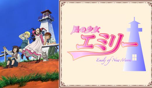 『風の少女エミリー』はHulu・U-NEXT・dアニメストアのどこで動画配信してる?