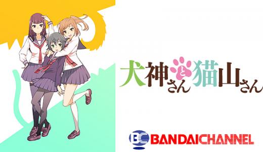 『犬神さんと猫山さん』はHulu・U-NEXT・dアニメストアのどこで動画配信してる?