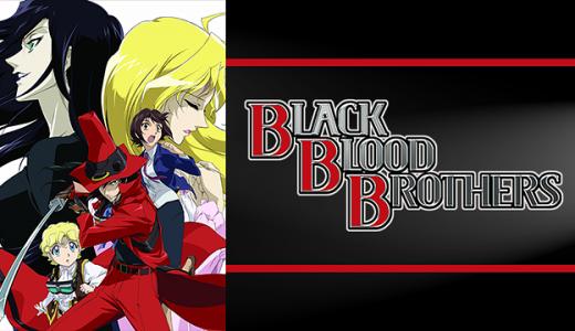 『BLACK BLOOD BROTHERS』はHulu・U-NEXT・dアニメストアのどこで動画配信してる?