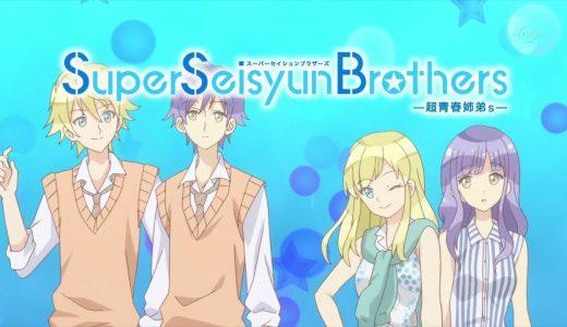 『Super Seisyun Brothers -超青春姉弟s-』はHulu・U-NEXT・dアニメストアのどこで動画配信してる?
