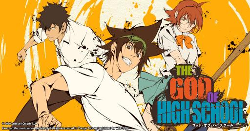 『THE GOD OF HIGH SCHOOL ゴッド・オブ・ハイスクール』はHulu・U-NEXT・dアニメストアのどこで動画配信してる?